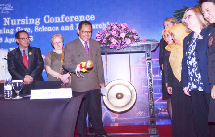 "The 9th International Nursing Conference ""Nurses at the Forefront Transforming Care, Science, and research"""