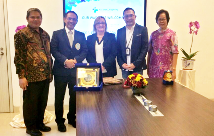 Sinergi FKp, National Hospital dan La Trobe University's School of Nursing & Midwivery Mempersiapkan Perawat Berdaya Saing Global