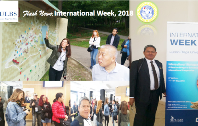 International Week of Lucian Blaga University of Sibiu, Romania-2018