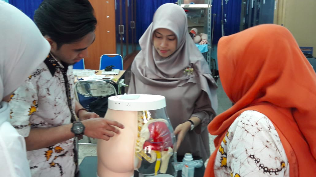 Manekin Baru Laboratorium FKp UNAIR