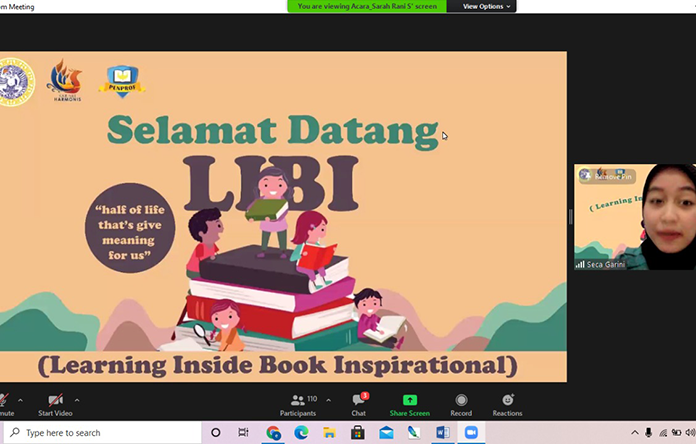 BEM FKP UNAIR MENGGELAR LIBI (LEARNING INSIDE BOOK INSPIRATION) TAHUN 2020